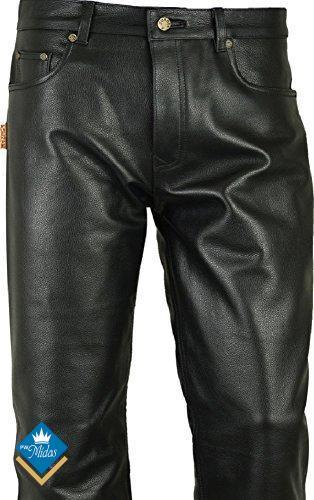 Spodnie skórzane motocyklowe by Polo Texas roz 46