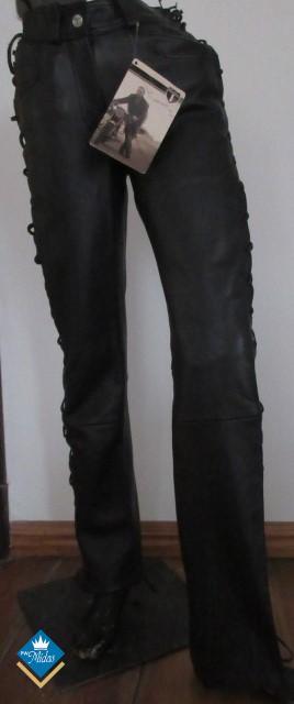 Spodnie skórzane damskie Highway by louis roz 34,38