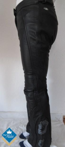 Spodnie skorzane  motocyklowe damskie Joe Rocket roz M 38/40